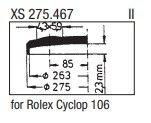 Rolex Cyclop 106