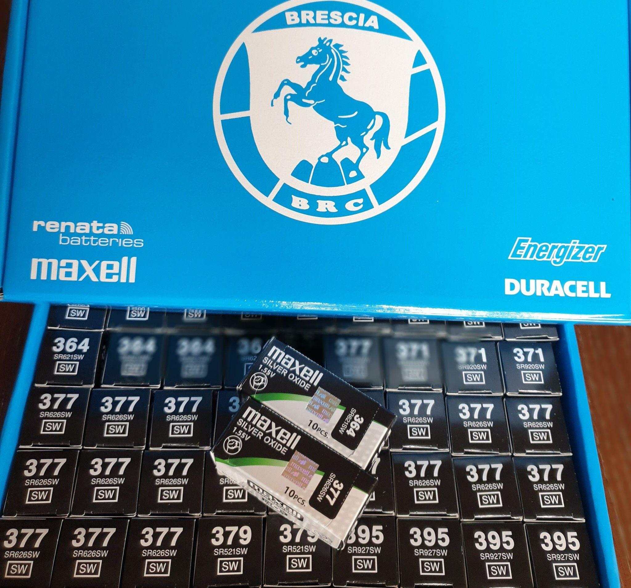 Offerta Pile Orologi Maxell 450 pz