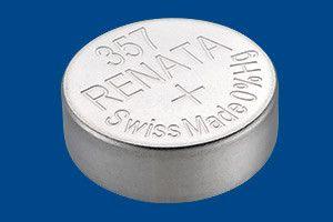 Pile per Orologi Renata Confezione MP 357