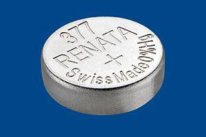 Pile per Orologi Renata Confezione MP 377