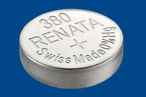 Pile per Orologi Renata 380