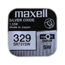Pile per Orologi Maxell 329