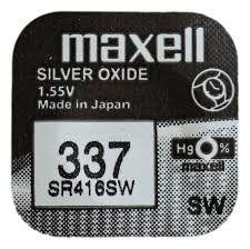 Pile per Orologi Maxell 337