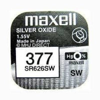 Pile per Orologi Maxell 377