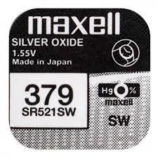 Pile per Orologi Maxell 379