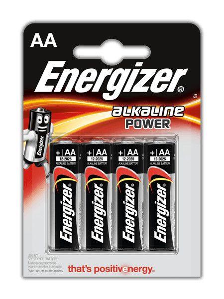 Energizer Stilo Alkalina Blister 4 pz