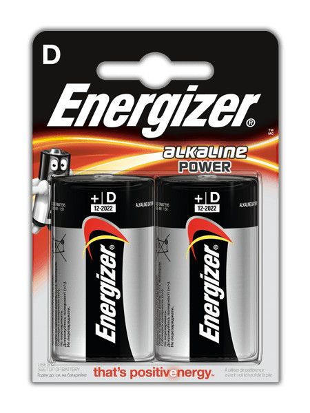 Energizer Torcia Alkalina Blister 2 pz