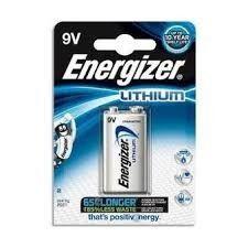 Energizer 9 V Lithio Blister 1 pz