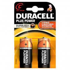 Duracell Mezza Torcia Alkalina Blister 2 pz
