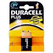 Duracell 9 V Alkalina Blister 1 pz