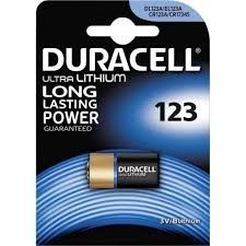 Duracell Lithio 3V CR 123 A Blister 1 pz