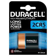 Duracell Lithio 6V 2CR5 Blister 1 pz