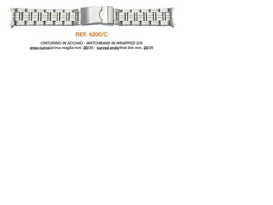 Cinturino Metallo 4200/C