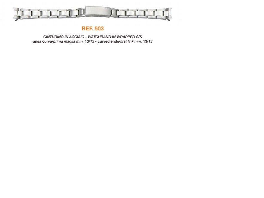Cinturino Metallo 503