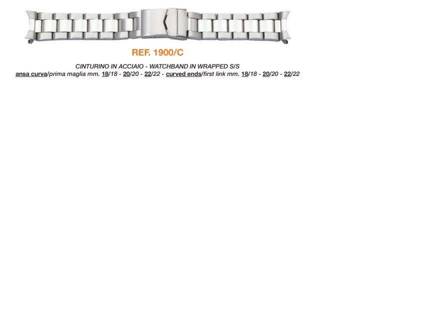 Cinturino Metallo 1900/C
