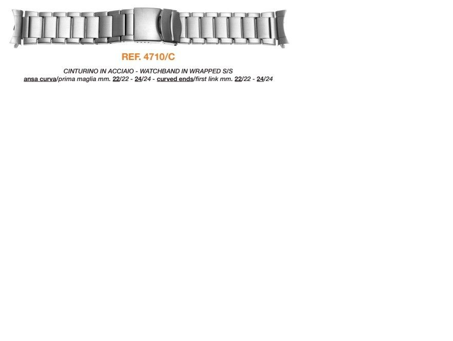 Cinturino Metallo 4710/C