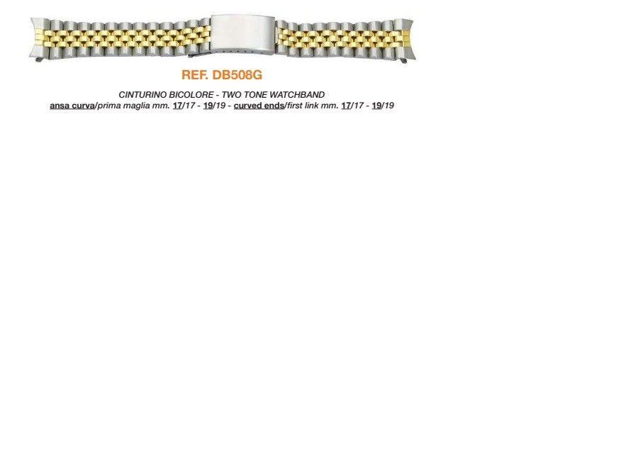 Cinturino Metallo DB508G/LG