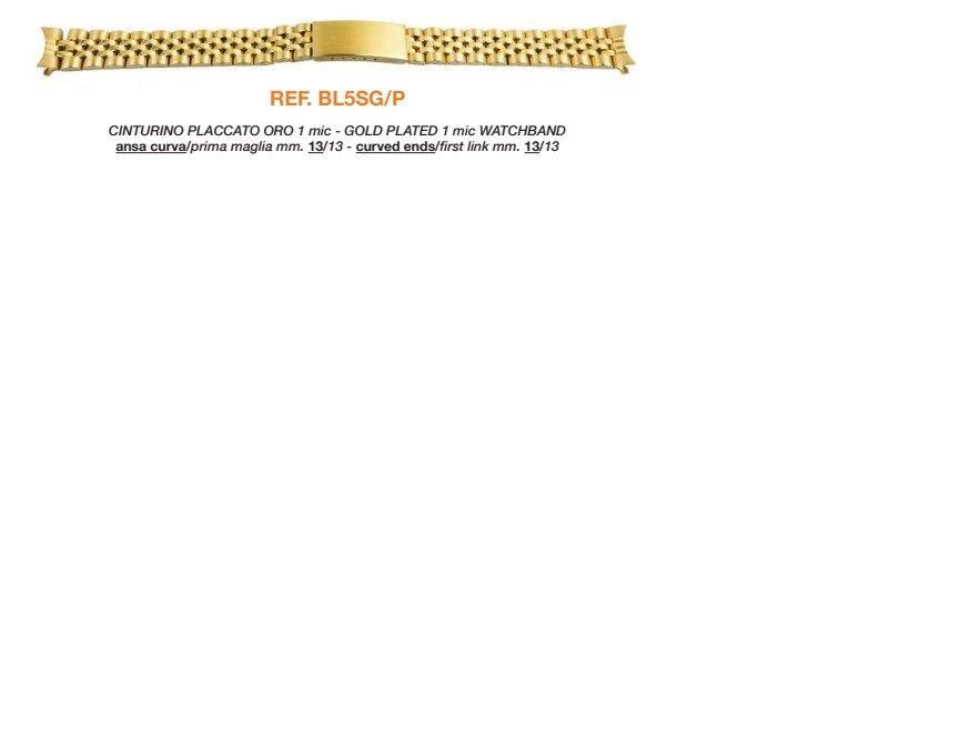 Cinturino Metallo BL5SGP