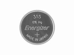 Pile per Orologi Energizer 315