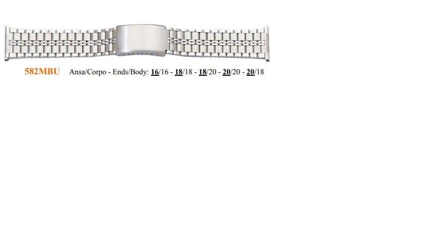Cinturino Metallo 582MBU
