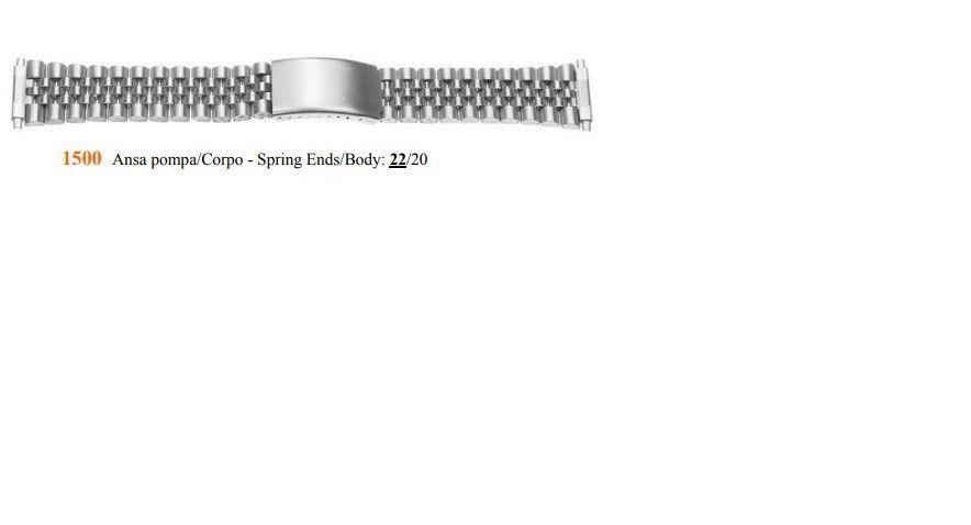 Cinturino Metallo 1500
