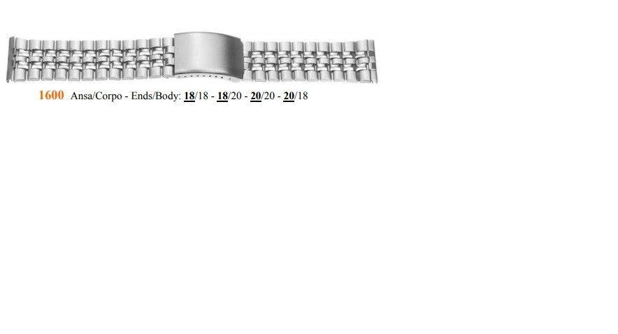 Cinturino Metallo 1600