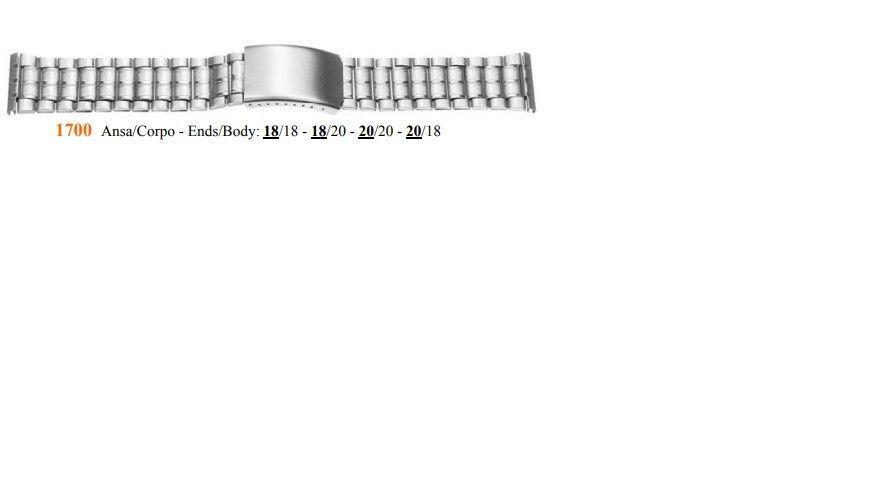 Cinturino Metallo 1700