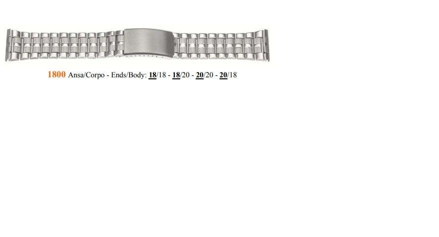 Cinturino Metallo 1800