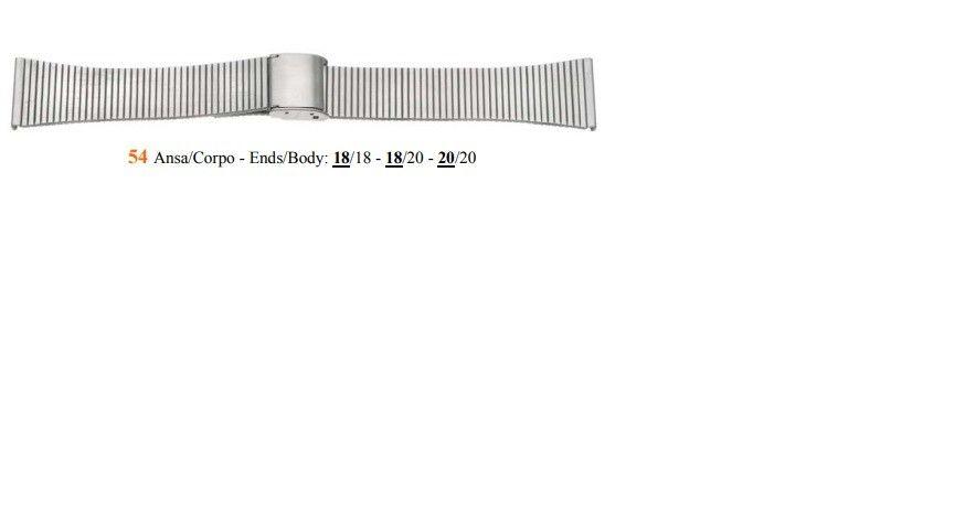 Cinturino Metallo 54