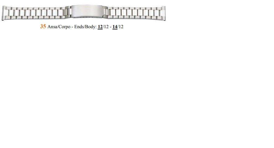 Cinturino Metallo 35