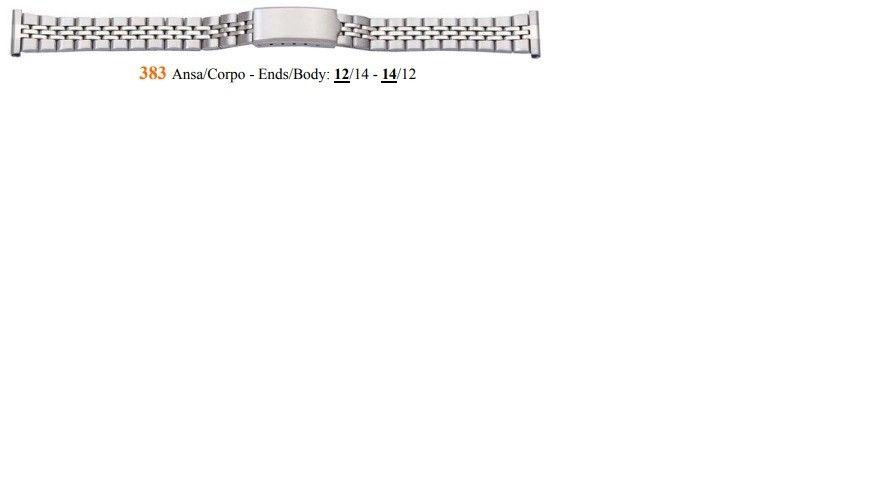 Cinturino Metallo 383