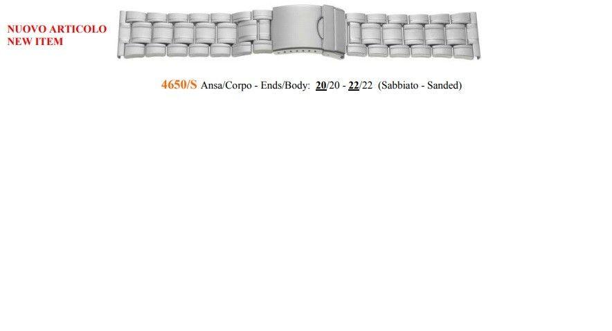 Cinturino Metallo 4650S