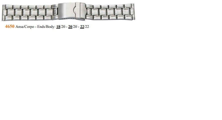 Cinturino Metallo 4650