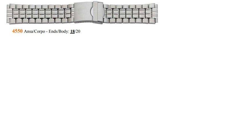 Cinturino Metallo 4550