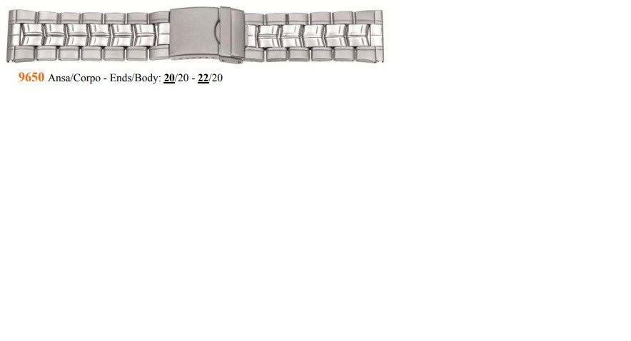 Cinturino Metallo 9650