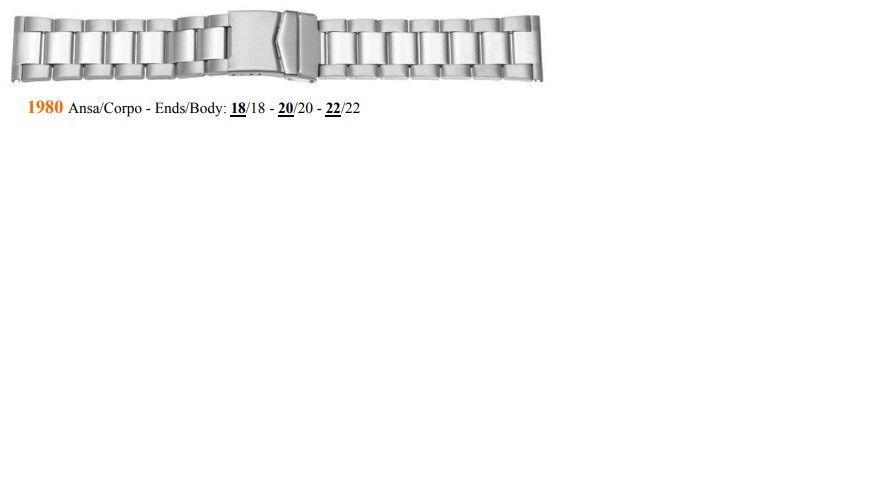 Cinturino Metallo 1980