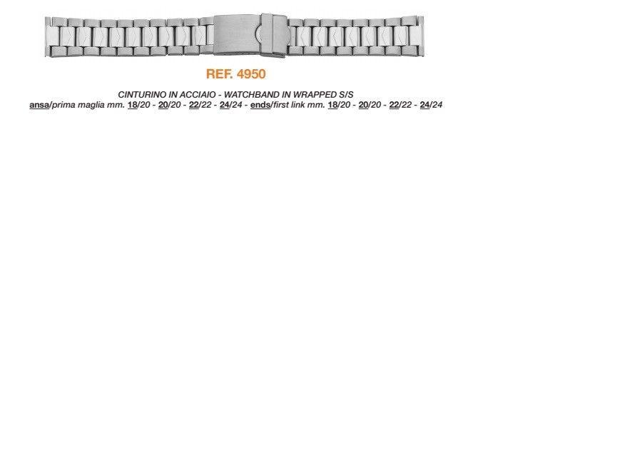 Cinturino Metallo 4950