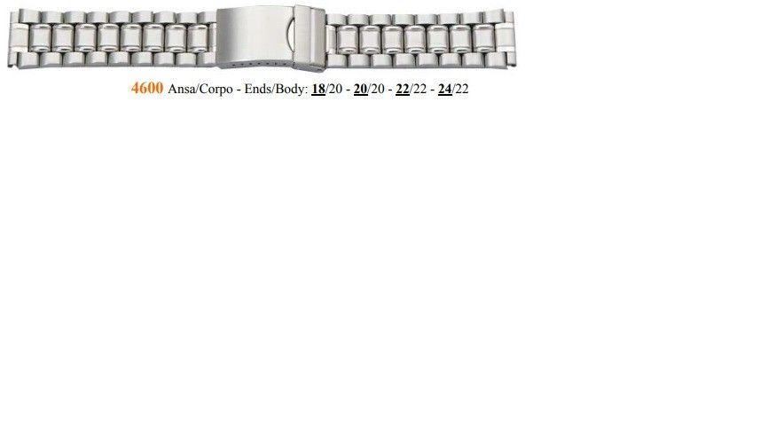 Cinturino Metallo 4600
