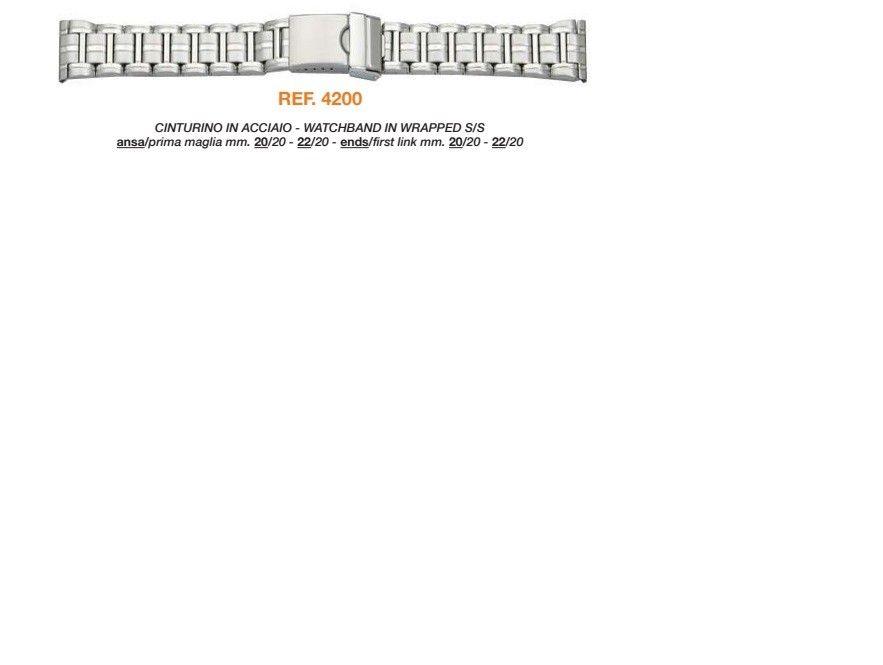 Cinturino Metallo 4200