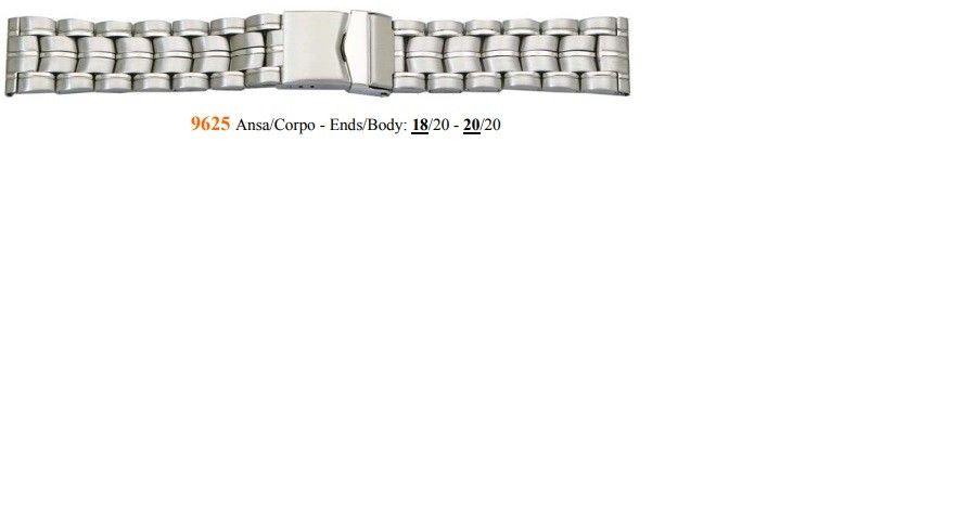 Cinturino Metallo 9625