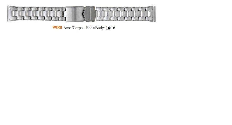 Cinturino Metallo 9980