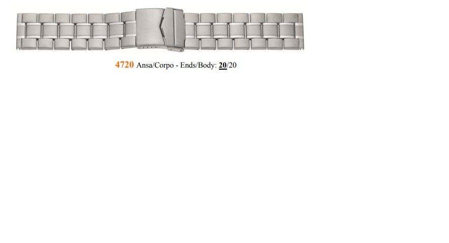 Cinturino Metallo 4720
