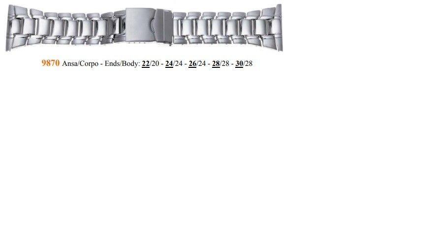 Cinturino Metallo 9870