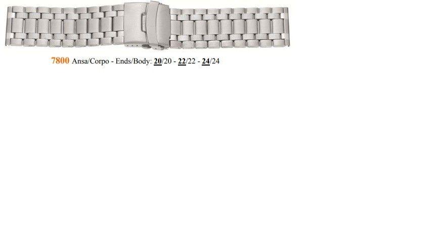 Cinturino Metallo 7800