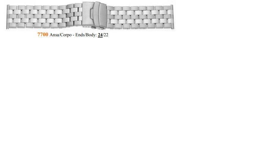 Cinturino Metallo 7700