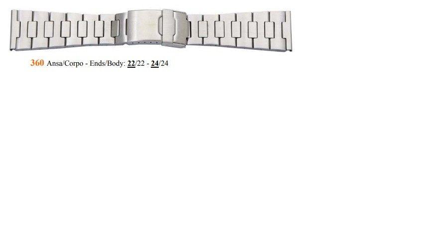 Cinturino Metallo 360