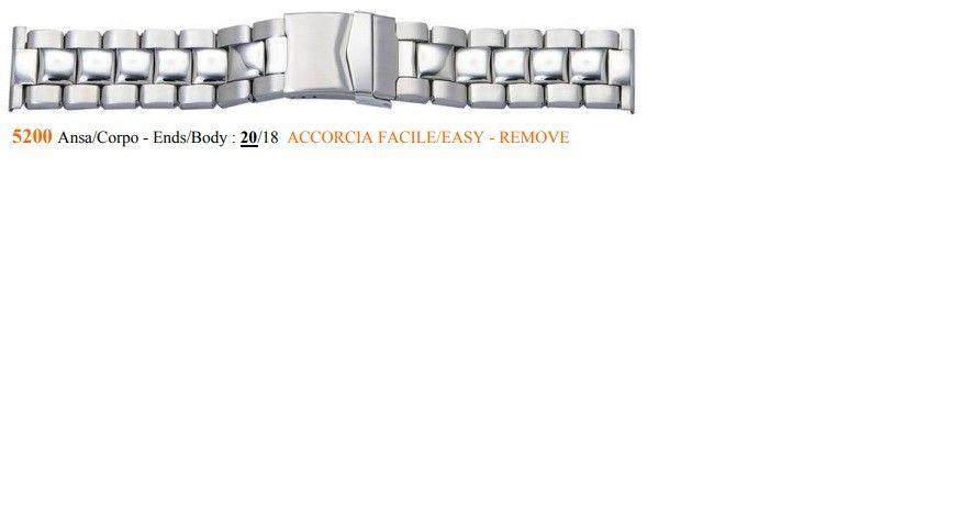 Cinturino Metallo 5200