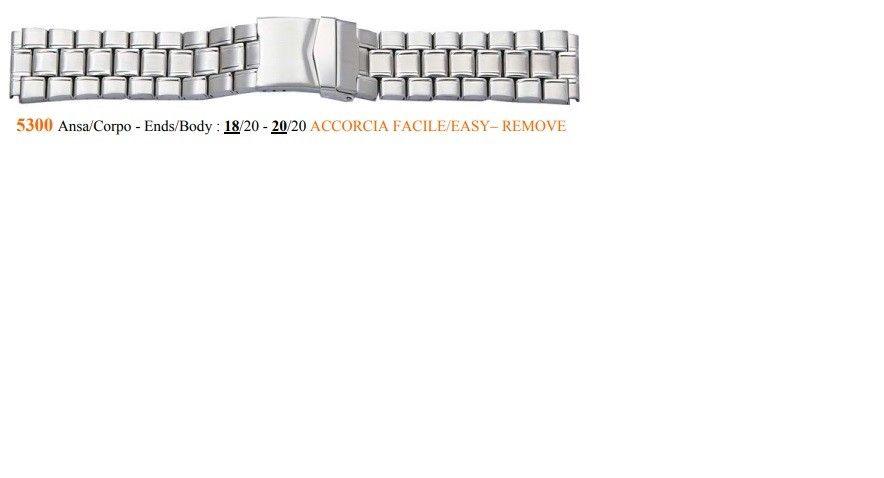 Cinturino Metallo 5300