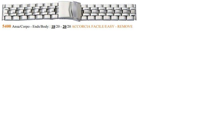 Cinturino Metallo 5400