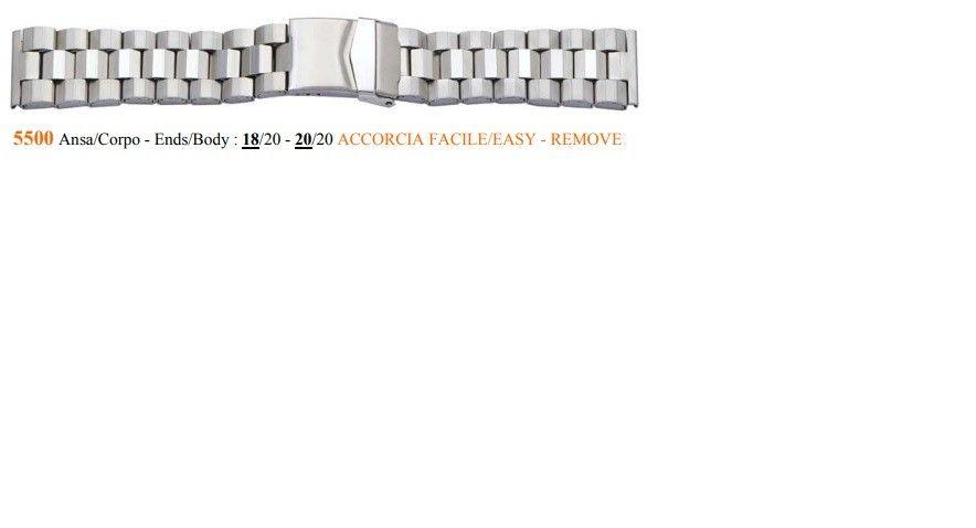 Cinturino Metallo 5500